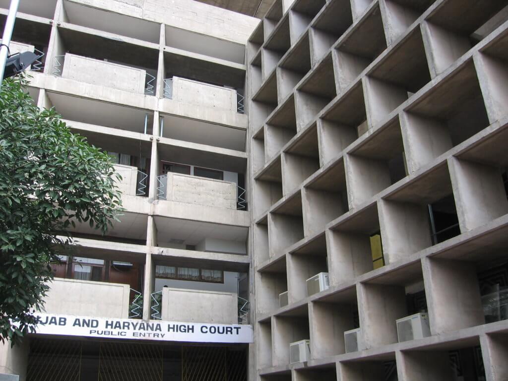 Juzgados de Chandigarh, diseñados por Le Corbusier.