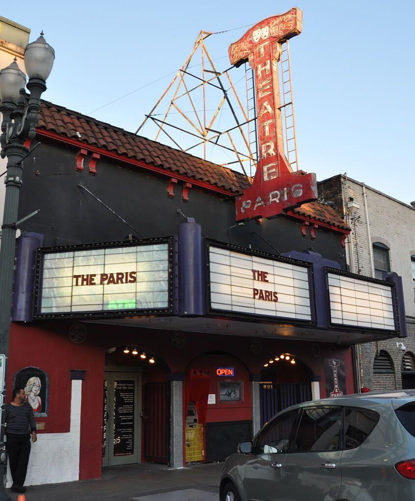 Teatros en Portland.