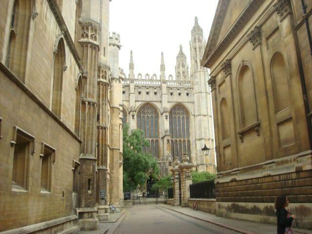 Centro histórico Cambridge