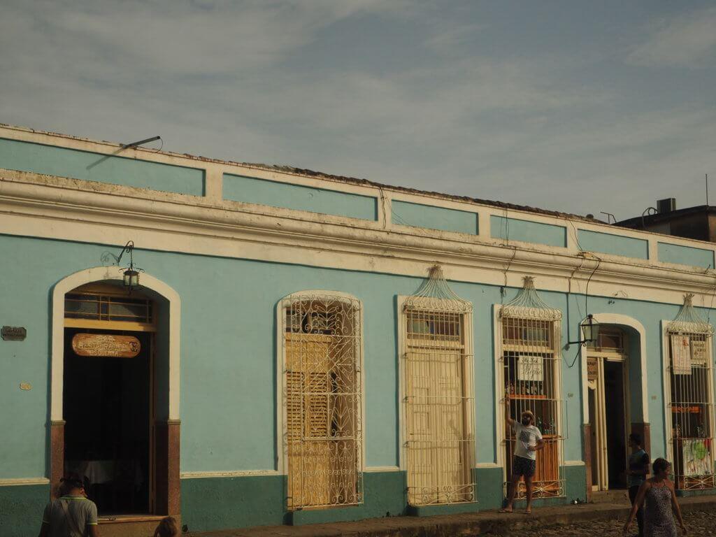 En Trinidad, se conservan la mayoría de las casas coloniales del pasado