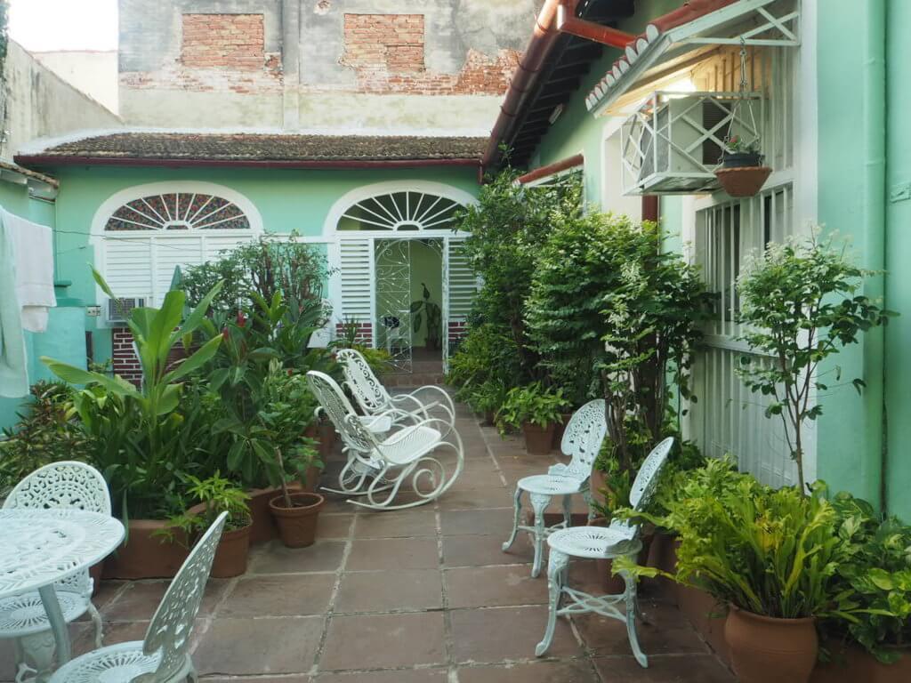Casa de Vïctor y Elena en Trinidad, Cuba.