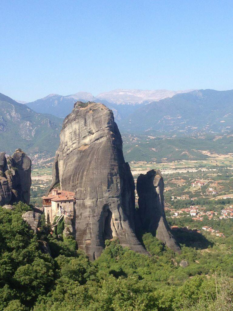 Monasterios de Meteora en Grecia.
