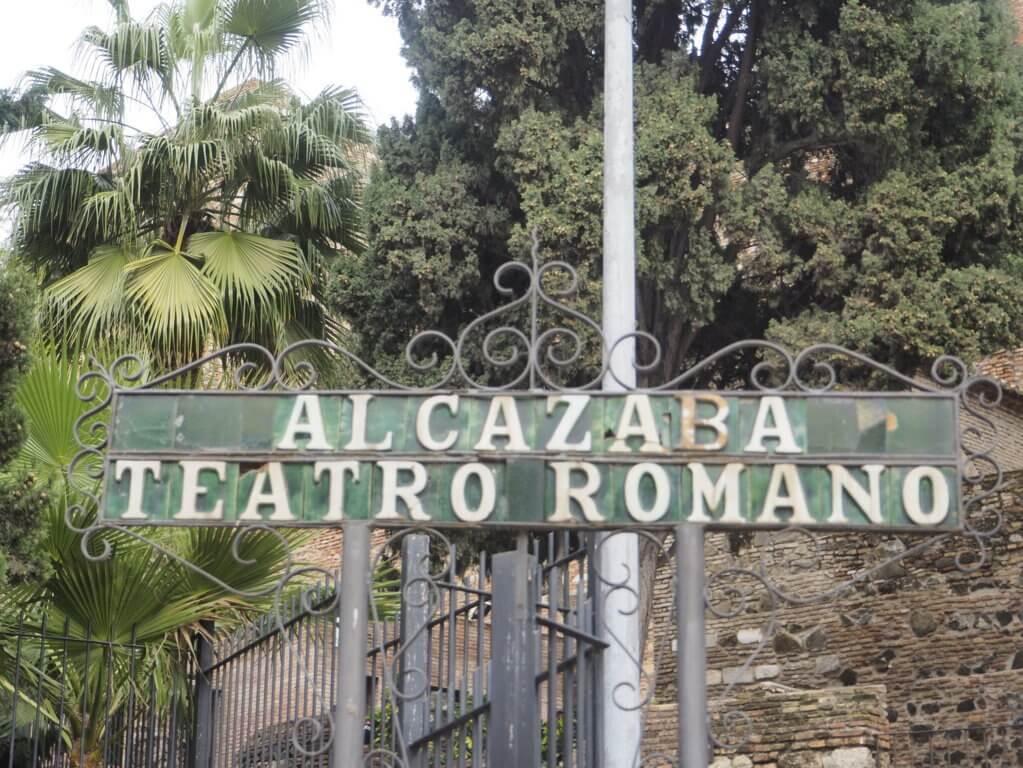 Alcazaba en Málaga.