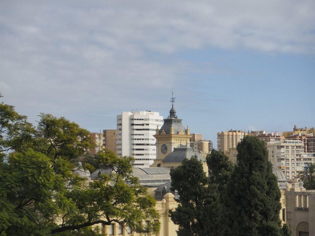 Vistas desde la Alcazaba de Málaga.