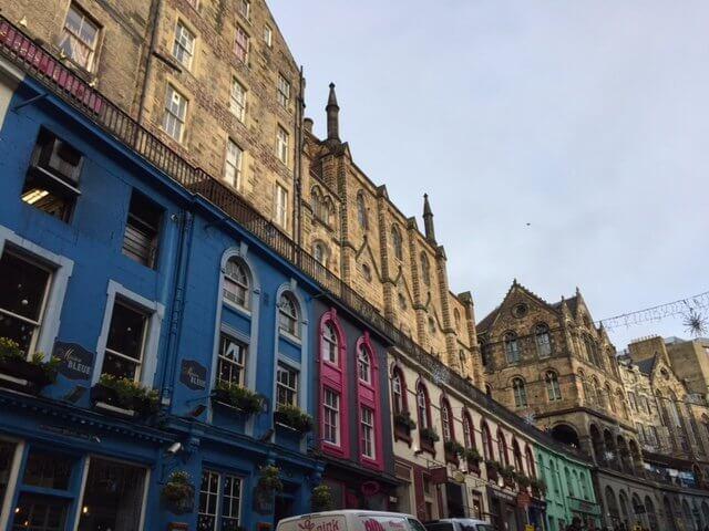 Victoria Street, Edimburgo.