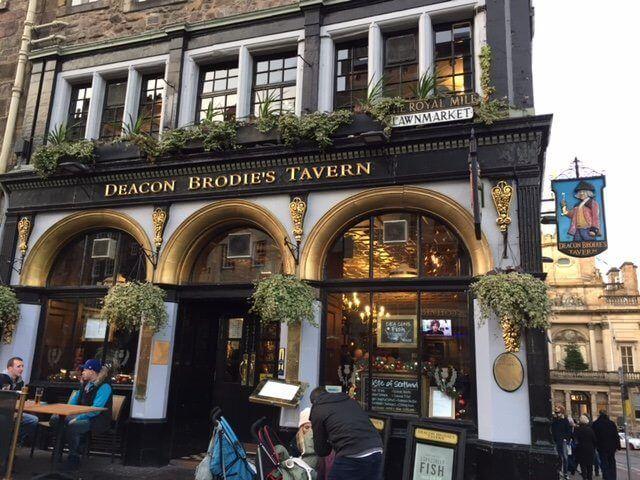 Deacon Brodie pub.