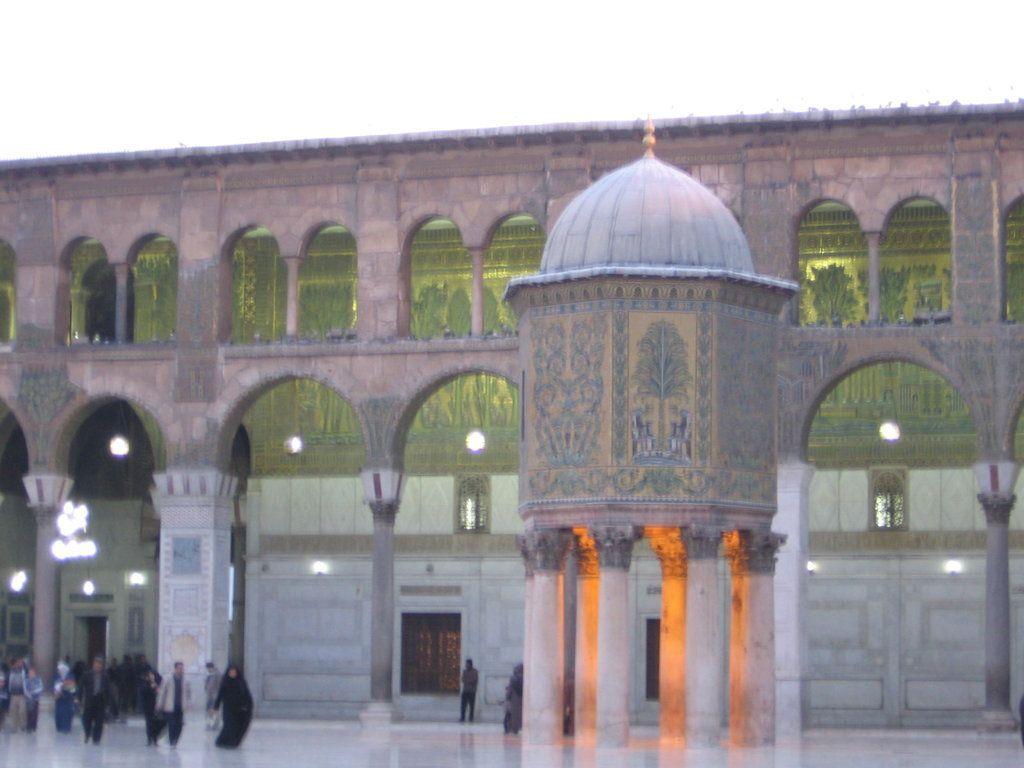 Mezquita de los Omeyas, Damasco, Siria.