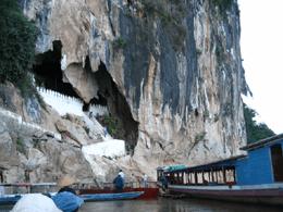 Las cuevas de Pak'ou en Luang Prabang