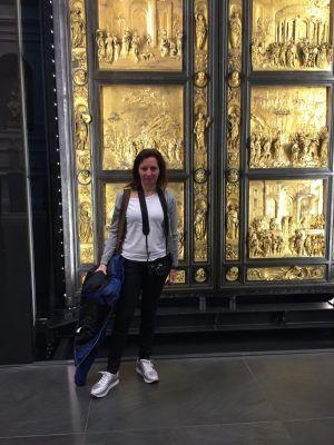 Puertas de Ghiberti, Baptisterio de Florencia.