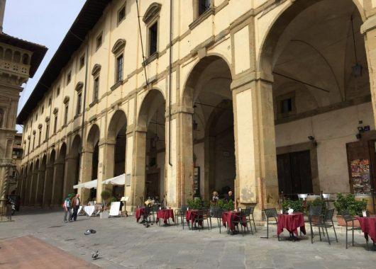 Arezzo, Tuscany.
