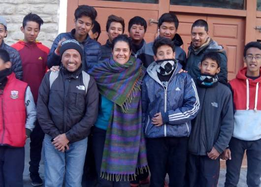 nepal mujer sola viajando