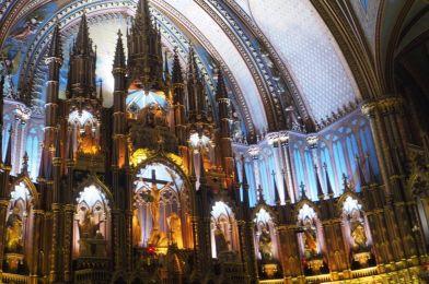 Notre Dame en Montreal, Canadá.