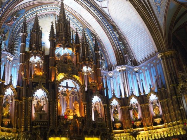 Notre Dame, Montreal, Canadá
