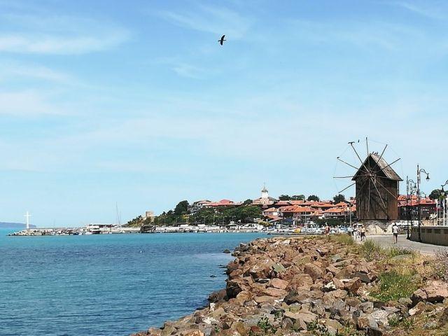 Puerto de Nessebar, Bulgaria.
