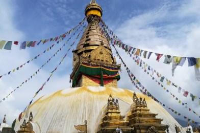 La stupa de Swayambhunath en Kathmandu