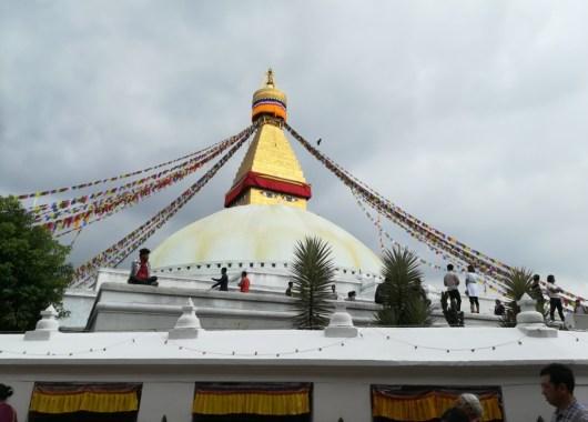 Estupa de Boudhanath, Kathmandu, Nepal