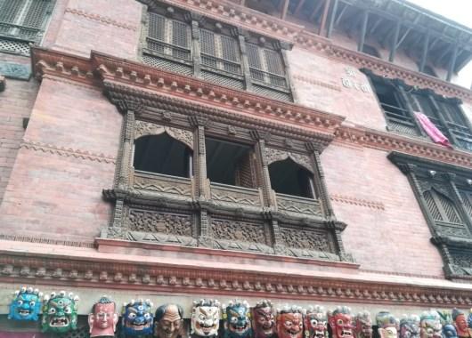 Casas de Swayambhunath