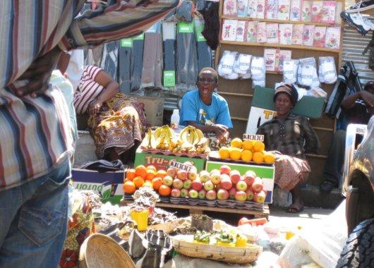 Mercado de Lusaka, Zambia