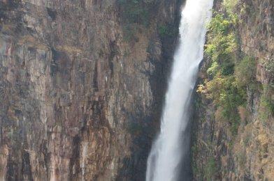 Kalambo Falls en Mbala, o las segundas cataratas más altas de África.