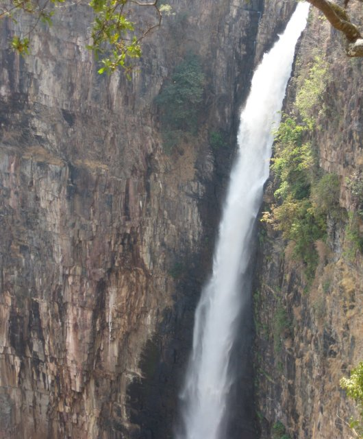 Las Kalambo Falls son las segundas cataratas más altas de África.
