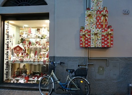 Lucca en la Toscana, calle Fillungo