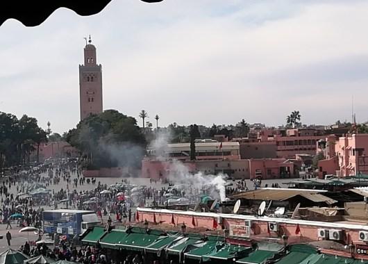 Plaza de Yamaa el Fna, Marrakech