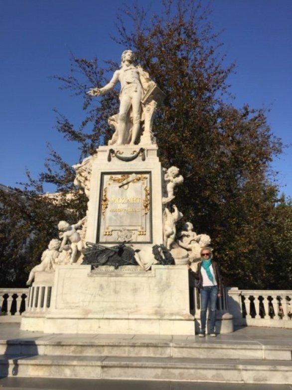 Monumento a Mozart, Viena