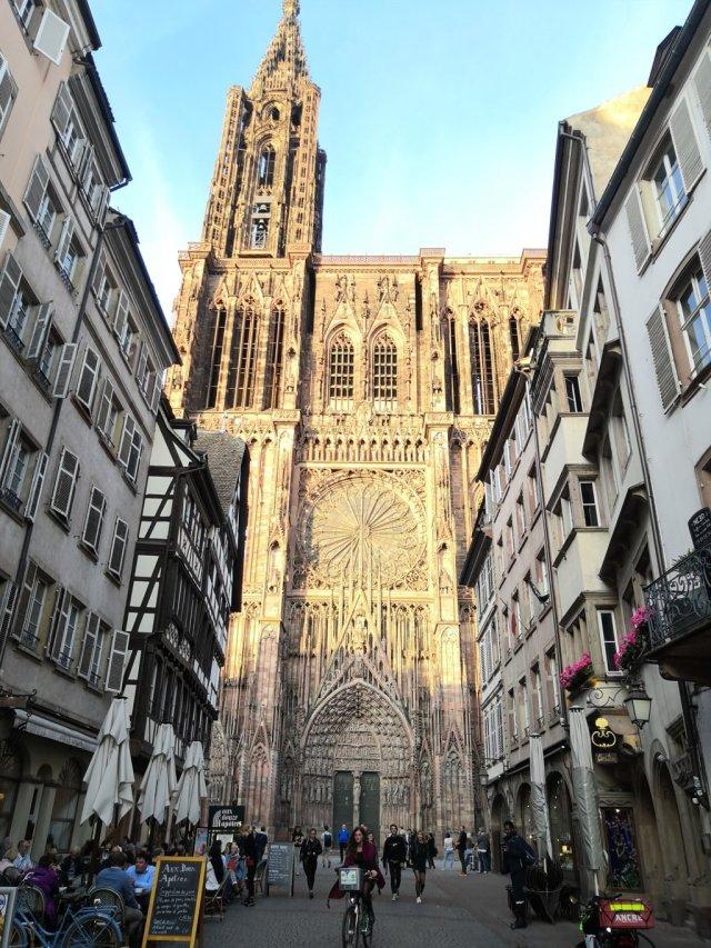 La Catedral de Estrasburgo, Francia