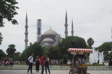 Ayasofia en Estambul, Turquía