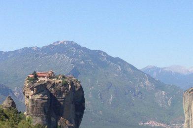 Monasterios ortodoxos en Meteora, Grecia