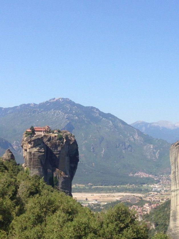 Monasterio de Agia Triada o la Santísima Trinidad, Meteora, Grecia