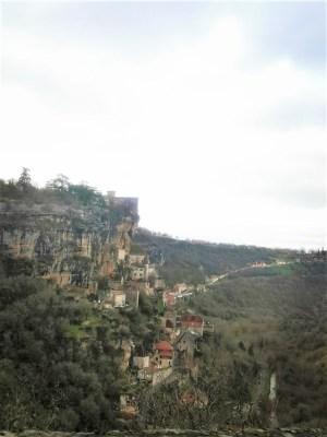 Rocamadour en el Sur de Francia