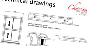 Charisma Rose technical drawing