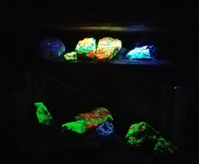 Luminescent rocks