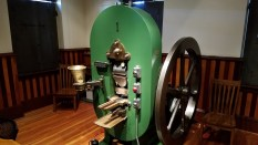 The original Coin machine, it churned out over 4million silver coins