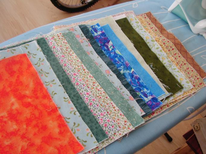 Little squares fabric