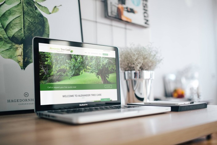 Alexander Tree Care - Website Design by Rosewood VA Newmarket