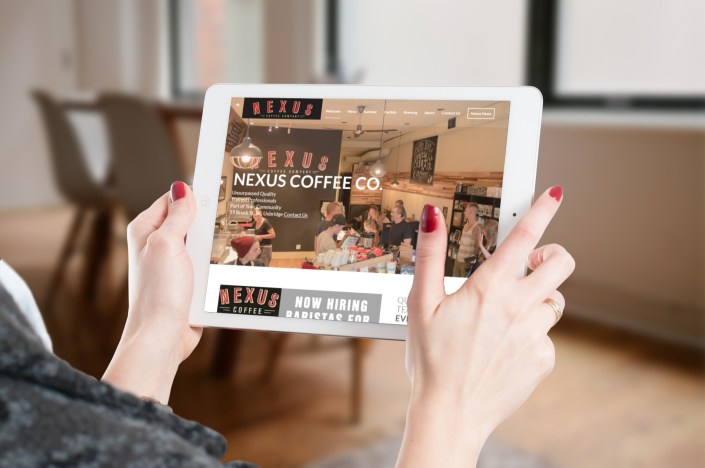 Nexus Coffee Company - Website Design Uxbridge by Rosewood VA