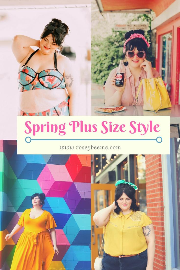 Spring Plus Size Style Tips | Spring Fashion Ideas for Curvy Women