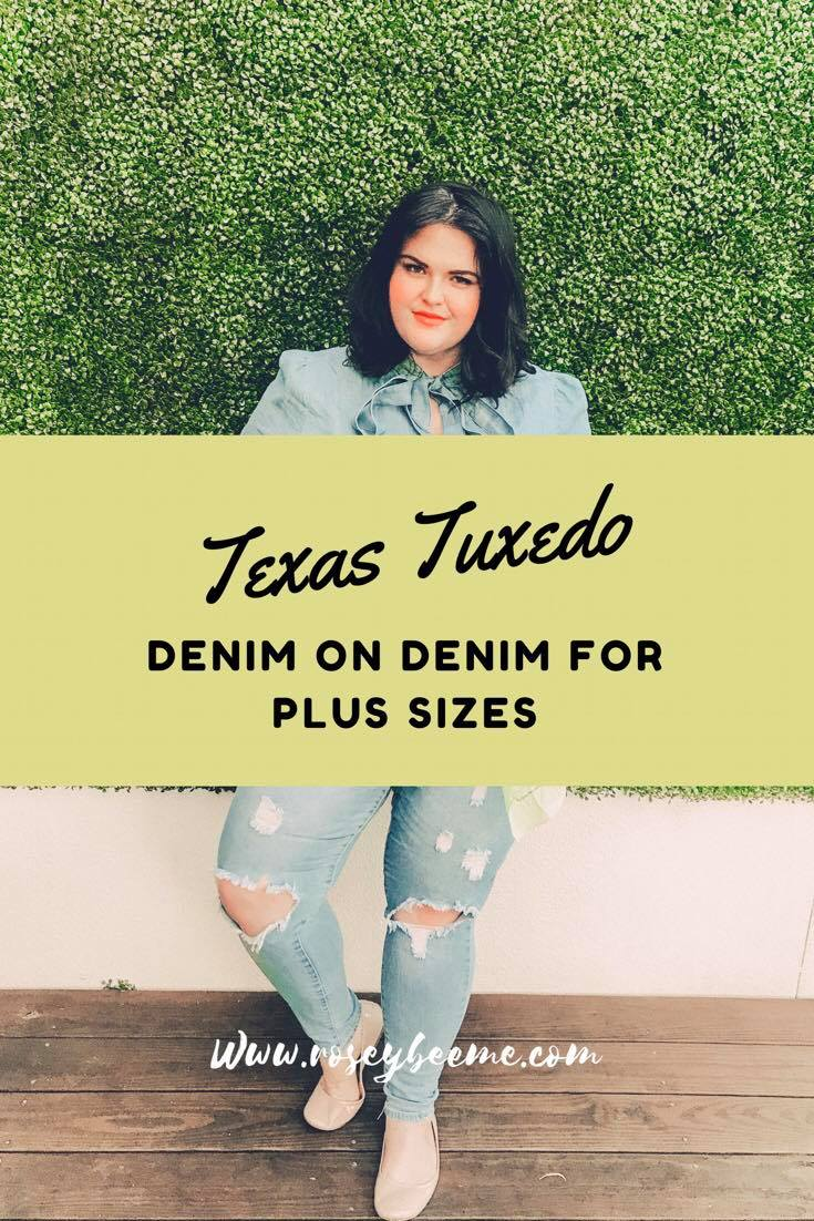 Plus Size Denim on Denim