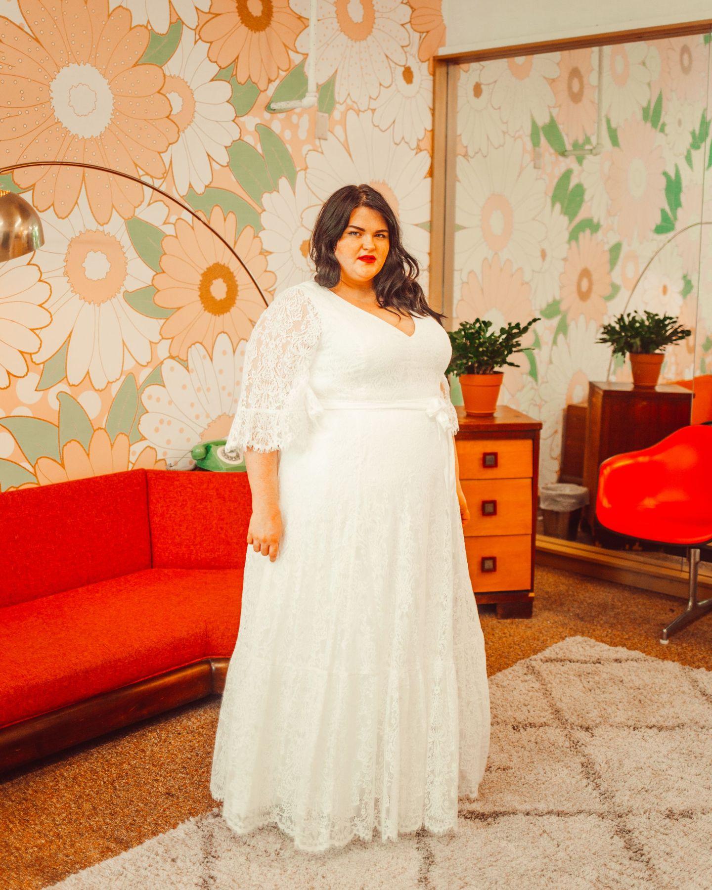 Plus Size White Dresses For Bridal Shower – DACC