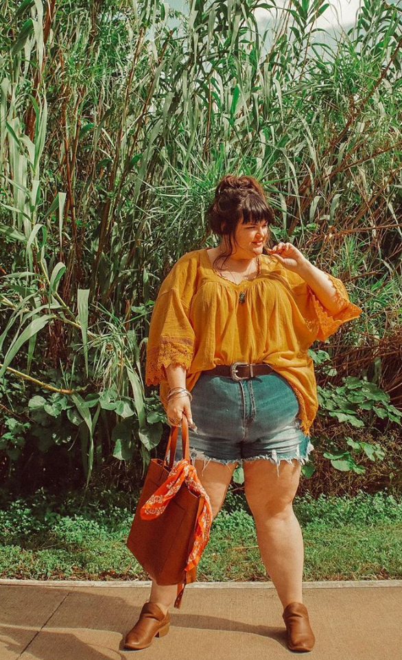 Plus Size Boho Outfit