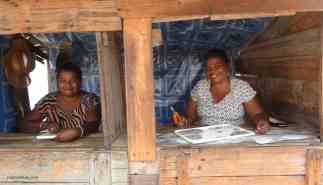 Traders in Ilakaka. Photo: Rosey Perkins