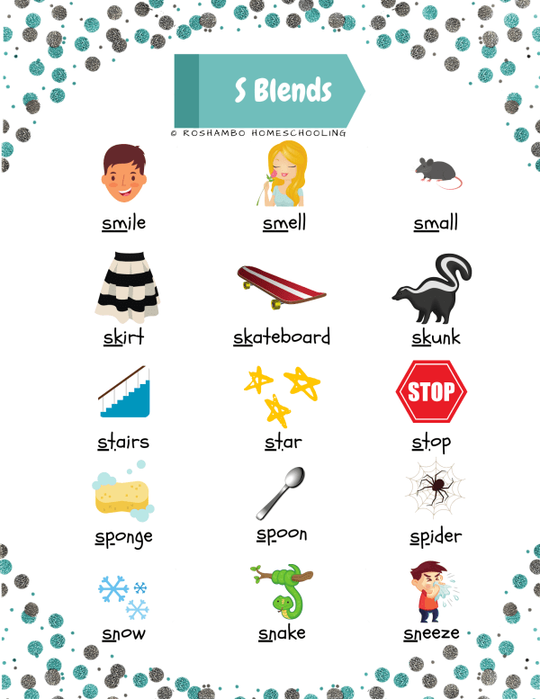 RoShamBo Homeschooling S blends poster