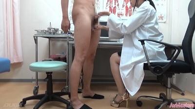 「男性検査」があるクリニック 制服女子の手コキ編サンプル7
