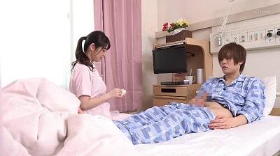 「早漏の相談中に我慢できず暴発したら優しくゆっくり改善セックスしてくれた看護師さん」 VOL.3サンプル10