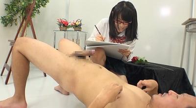 ヌードモデルのバイトで派遣されたのは女子校美術部!?サンプル6