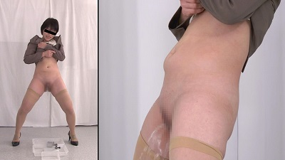 膀胱観察5 限界立ちション編サンプル12