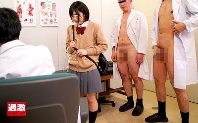 集団露出魔に輪姦された女子○生サンプル3