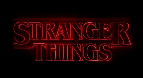Logo de Stranger Things.
